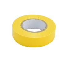 Изолента ПВХ 15мм, 20м желтая
