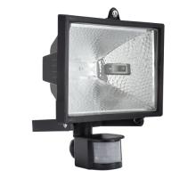 Прожектор галогенный с датчиком движения RFG 005 Black 150W 230V R7s IP44 черный ETP