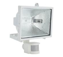 Прожектор галогенный с датчиком движения RFG 005 White 150W 230V R7s IP44 белый